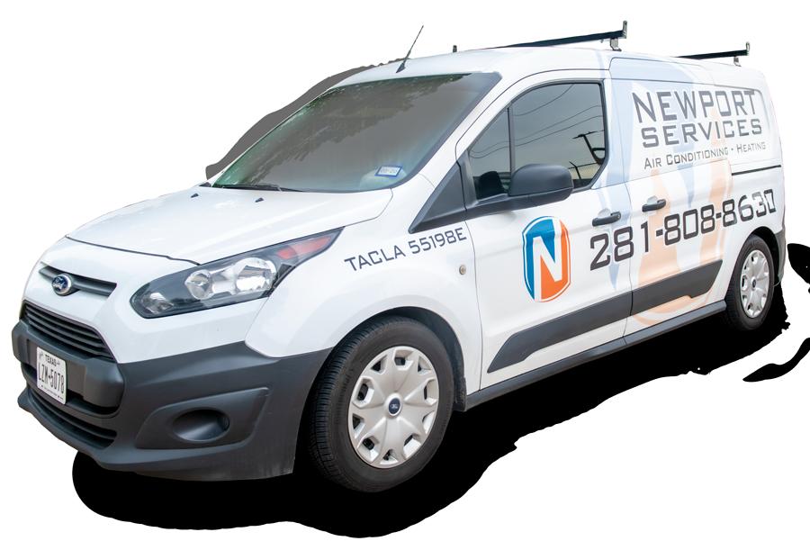 Newport AC Services Truck
